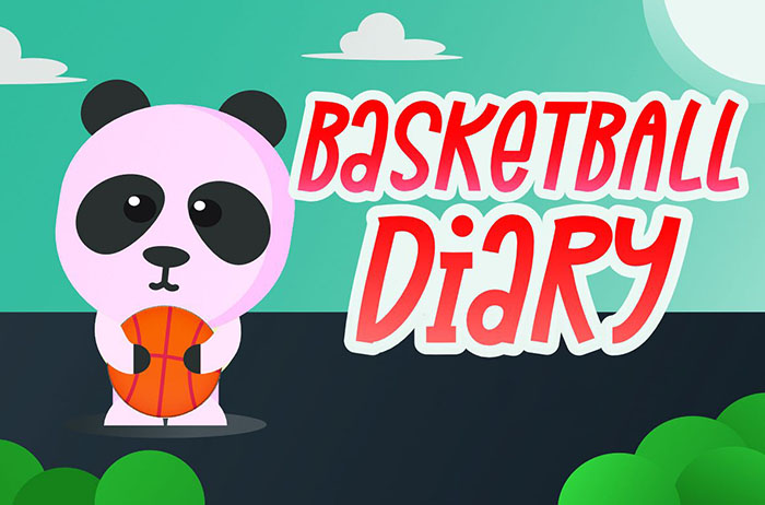 Basketball Diary Display Font