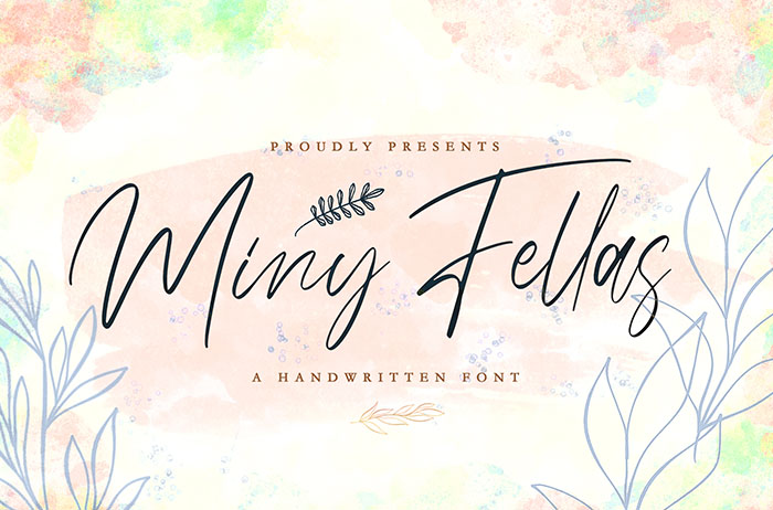 Miny Fellas Handwritten Font