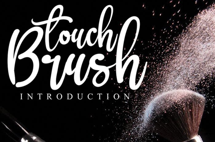 Brush Touch Brush Font