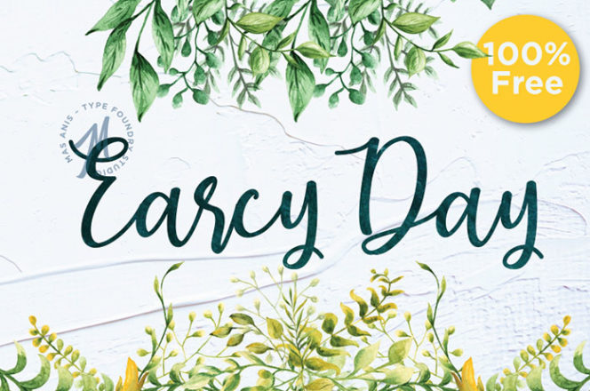 Earcy Day Script Font