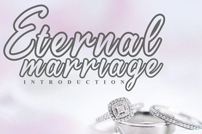 Eternal Marriage Calligraphy Font