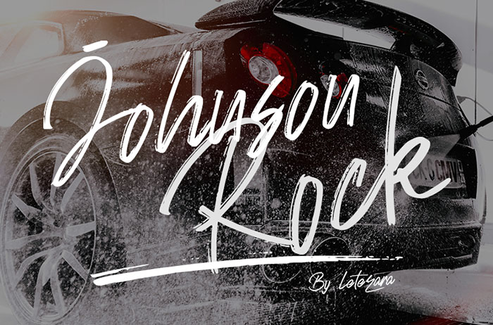 Johnson Rock Handwritten Font