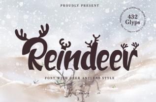 Free Reindeer Display Font