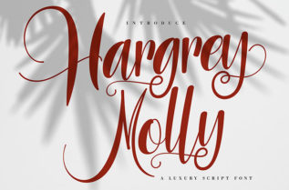 Hargery Molly Script Font