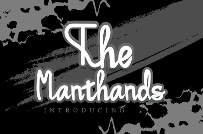 Manthands Calligraphy Font