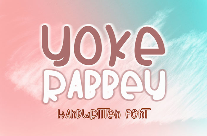 Yoke Rabbey Handwritten Font
