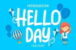 Hello Day Display Font