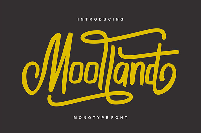 Moolland Display Font