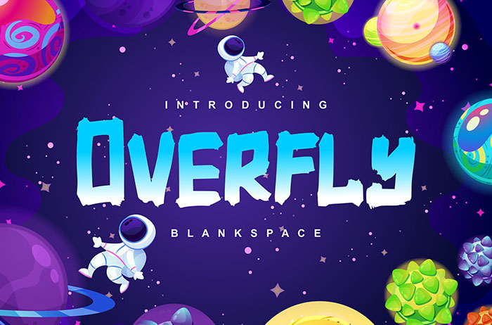 Overfly Display Font
