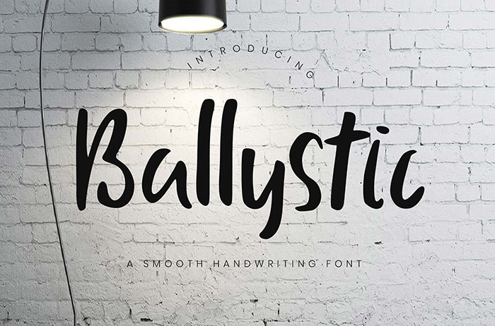 Ballystic Display Font