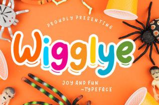 Wigglye Display Font