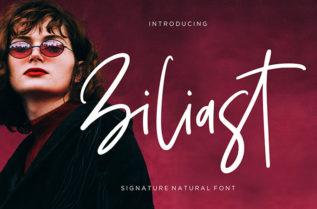 Ziliast Script Font