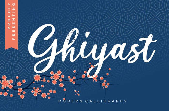 Ghiyast Calligraphy Font