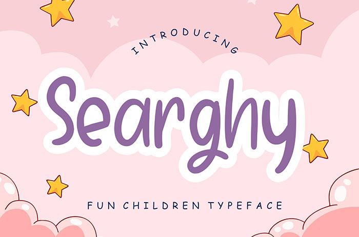Searghy Display Font
