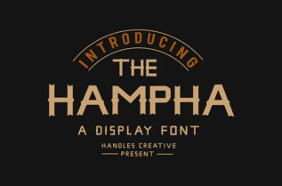 The Hampha Display Font