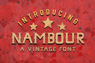 Nambour Display Font