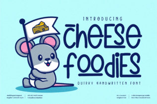 Cheese Foodies Font