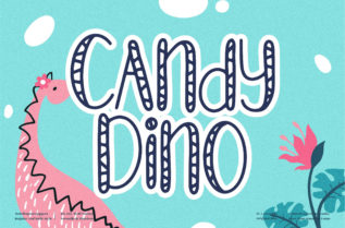 Candy Dino Font