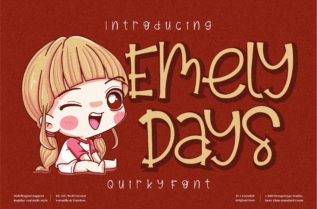 Emely Days Font