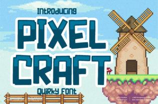 Pixel Craft Font