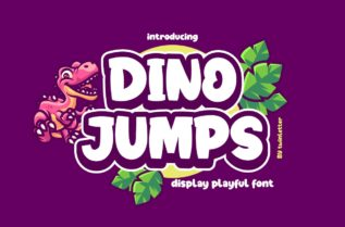 Dino Jumps Font